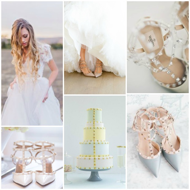 e2c13b7b304 Wedding Obsession! Valentino Rock Stud Wedding Shoes