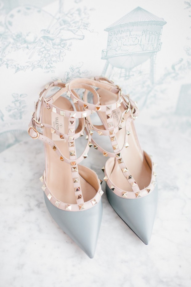 valentino rock stud wedding shoes