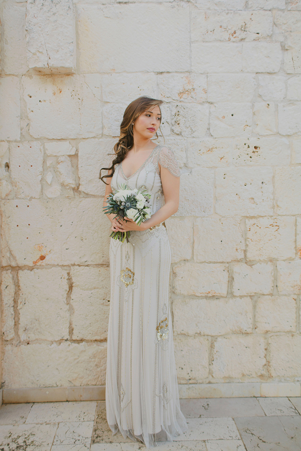 from apulia with love! a romantic & elegant styled shoot with cool hued colour palette