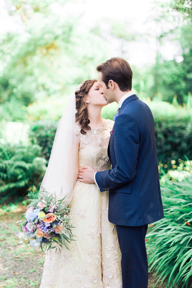Pretty Pastel Shades Wedding With Champagne Tones: Emily & Mike