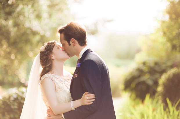 Pretty Bursts of Pastel Wedding with Elegant Champagne Tones: Emily & Mike