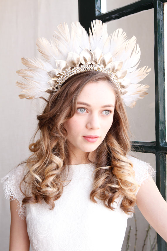 25 Wedding Headpieces That Are Perfect For Your Beautiful Boho Wedding!
