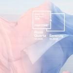 Pantone Colours of the Year 2016: Rose Quartz & Serenity!