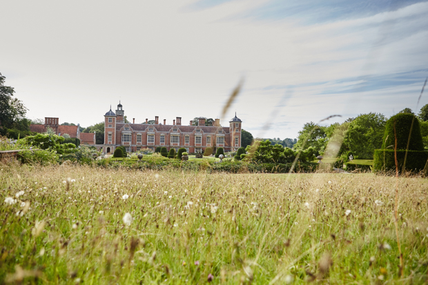 Roses, Gypsophila, Freesia's & Peonies Wedding at Blickling Hall: Rachel & Josh