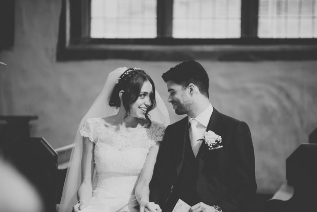 A Glam & Girly Ivory, Pink & Blush Real Wedding With a Hint of Gold: Amelia & Josh