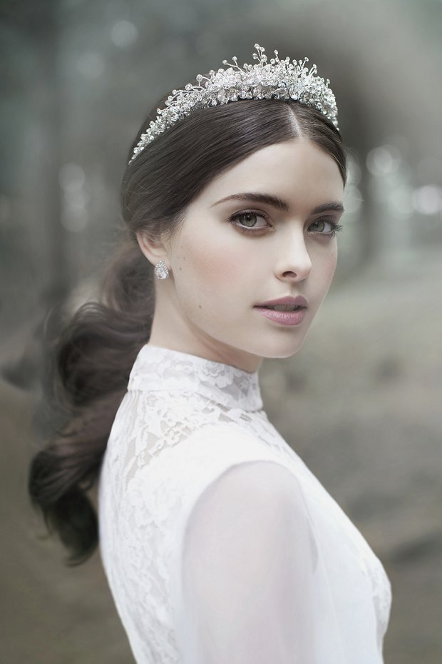 VIKTORIA NOVAK: 'The Evocative Prequel' Bridal Couture Headpiece 2016 Collection