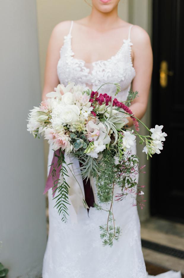 Chic Candlelit Wedding With Navy, Gold & Marsala: Roxanne & Panayiotis