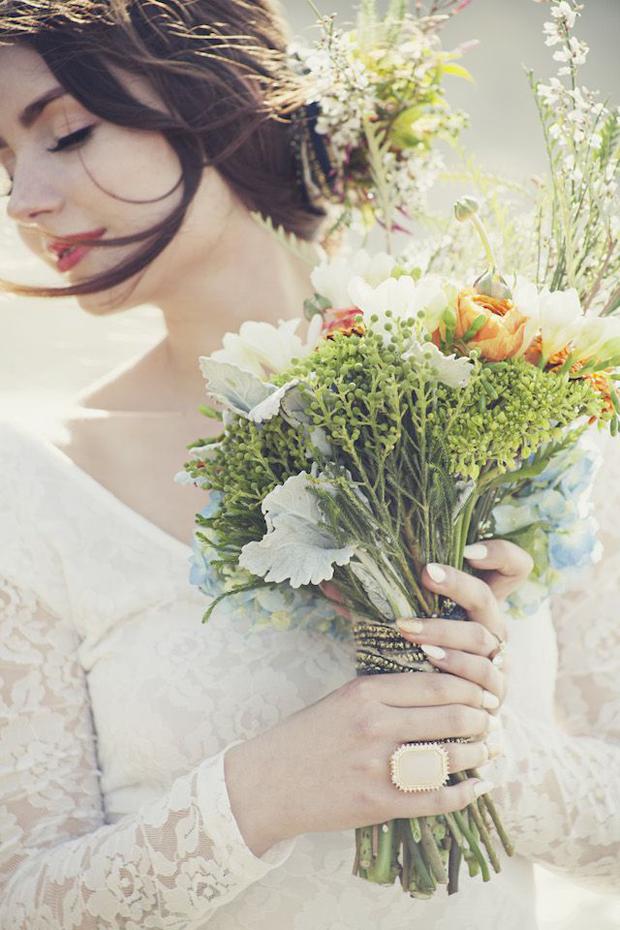 Oranges & Blues Wedding Inspiration & Colour Ideas