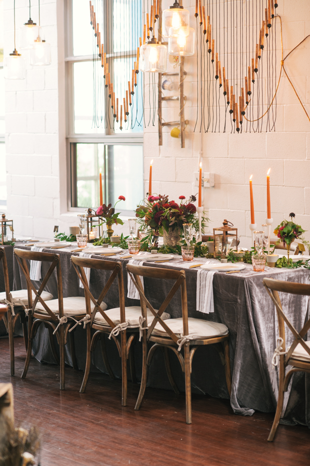 The #RadRehearsal - An Inspiring Industrial, Rustic Chic Rehearsal Dinner: Kristen and Mike