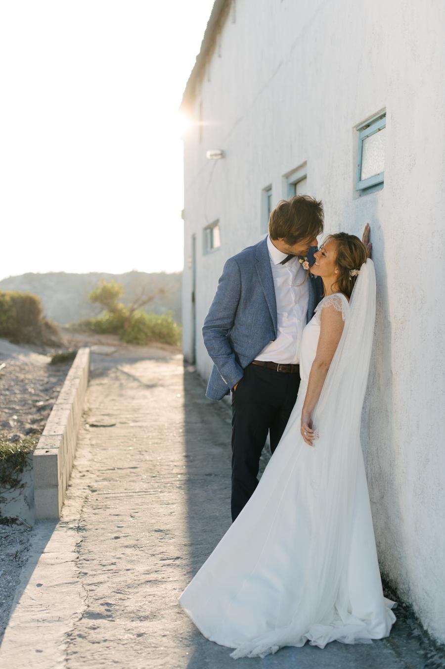 A Beautiful Beachy Wedding With Rustic Beach Wood, Coral & Peach ...