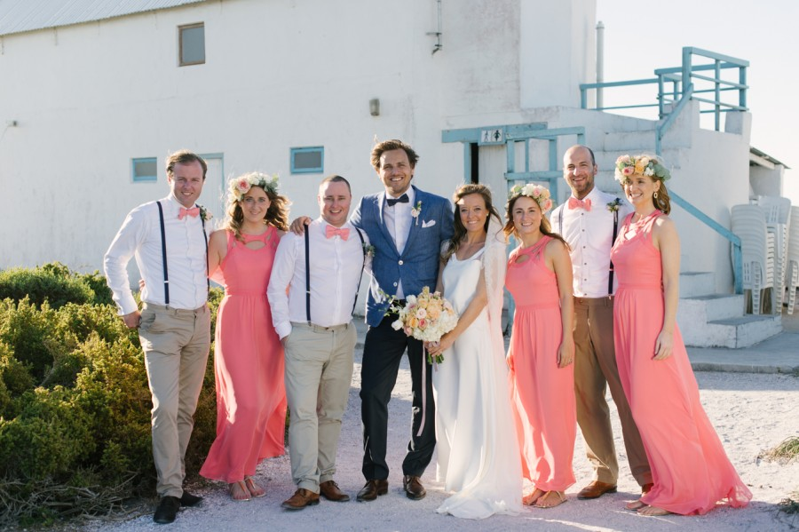A Beautiful Beachy Wedding With Rustic Beach Wood, Coral & Peach Manu & Jennifer