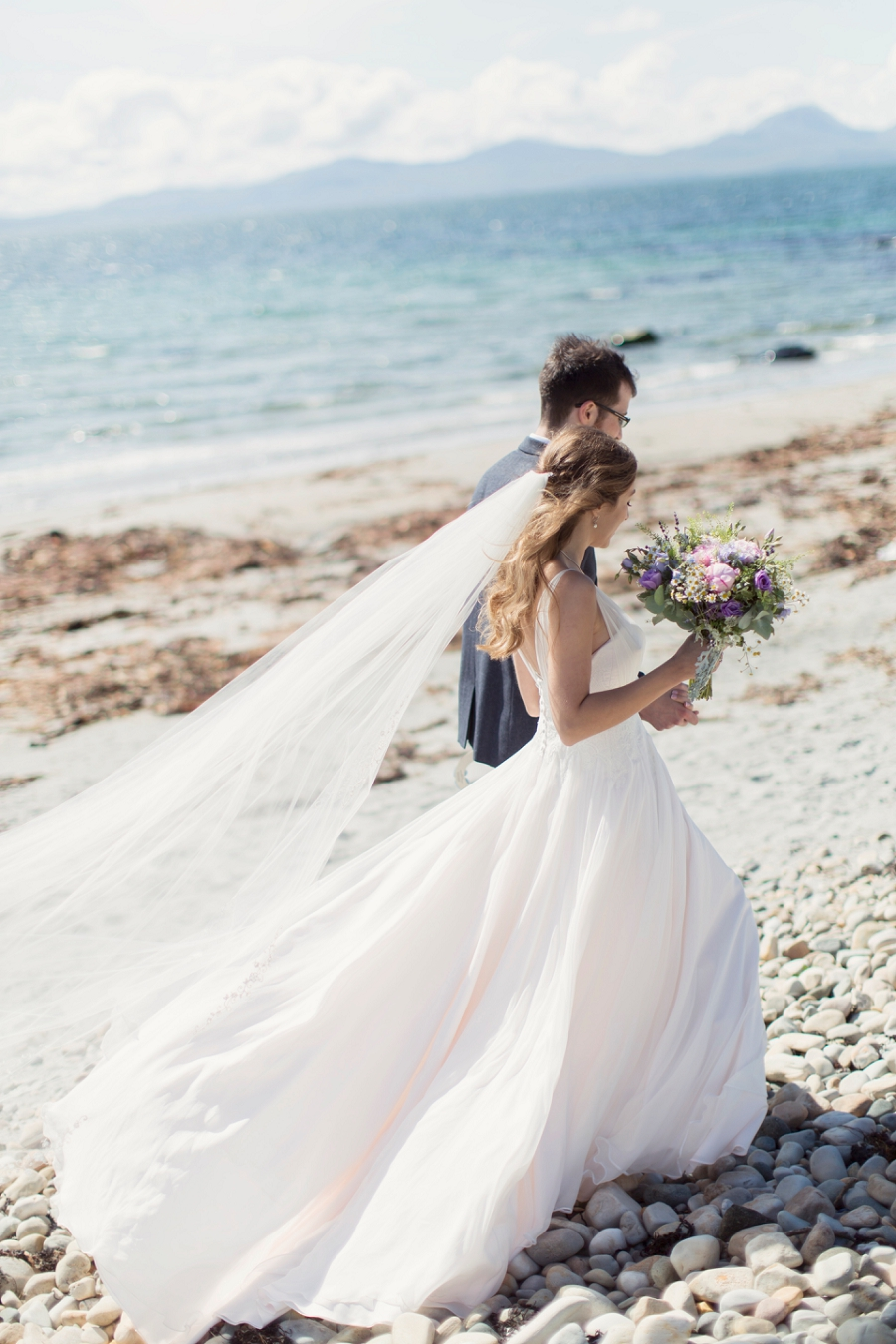 A Beautiful & Breathtaking, Celtic Handfasting Wedding By The Sea ...