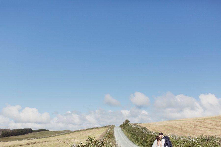 A Beautiful & Breathtaking, Celtic Handfasting Wedding By The Sea: Sarah & Neil