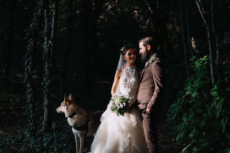 Rustic Nature, Macrame & Lace with Yolan Cris Bride: Dejaneira & Patrizio
