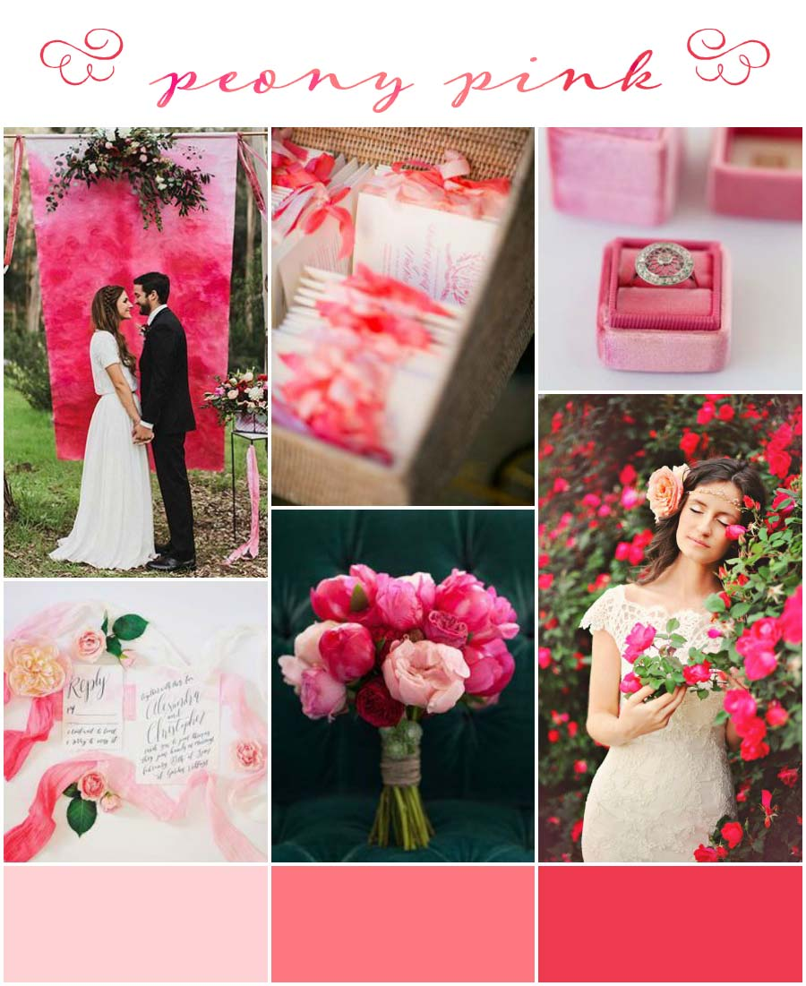 Peony Pink Wedding Inspiration & Colour Ideas (2)