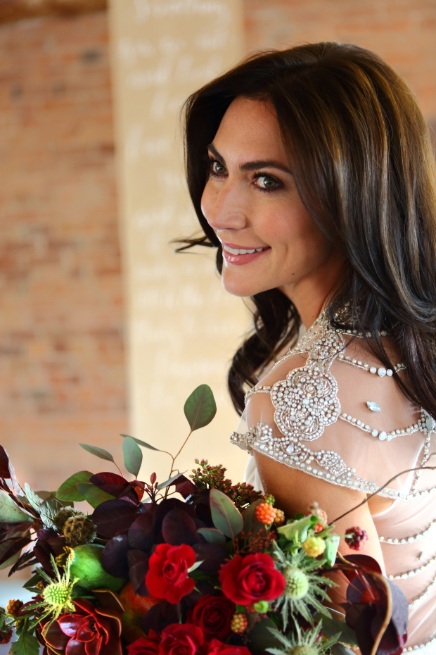 Wintry Rustic Decadence: A Chic Styled Bridal Shoot at The Mill
