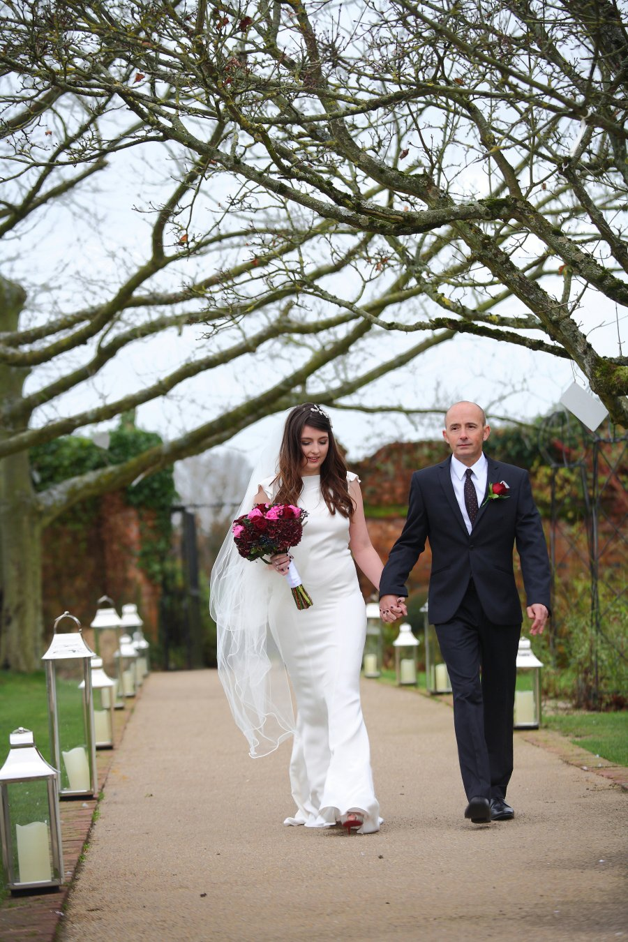 Wonderful winter wedding with rustic christmas vibes berry hues my bridesmaid dresses were from collection 8 in phase eight as soon as we saw them we fell in love they were different and non traditional ombrellifo Gallery