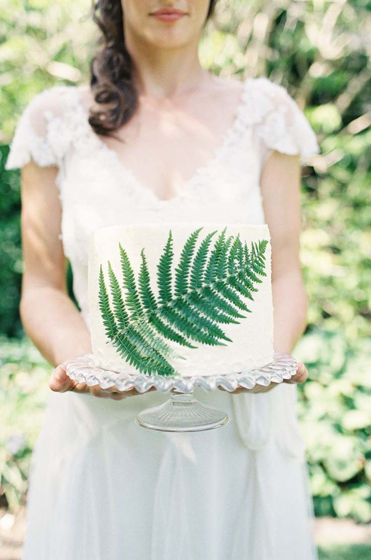 Organic Green Wedding Inspiration & Colour Ideas