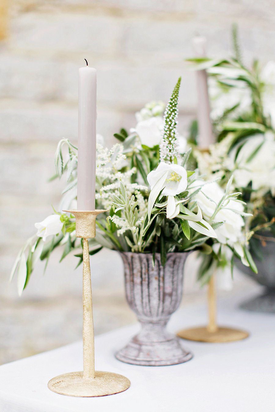A Beautiful Way! A Lace, Soft Green & Grey Bridal Editorial...