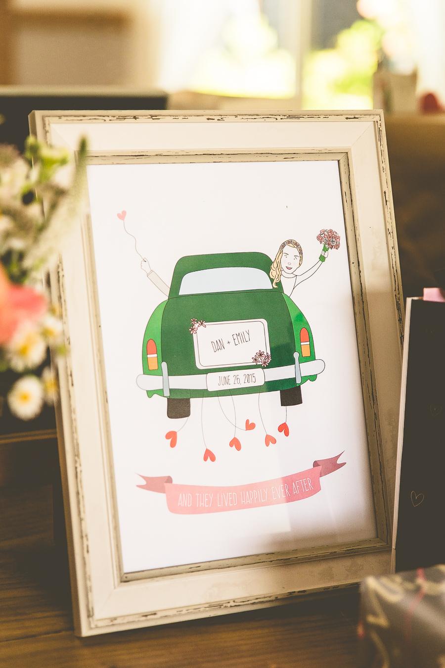 Flower Crown Bride & Floral Theme Outdoor Summer Wedding: Emily & Dan