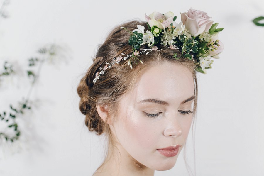 Enchanting & Ethereal Bridal Headpieces by Debbie Carlisle Secret Garden!