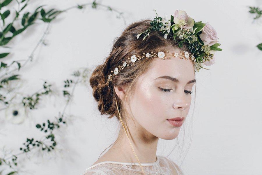 Enchanting & Ethereal Bridal Headpieces by Debbie Carlisle: Secret Garden!