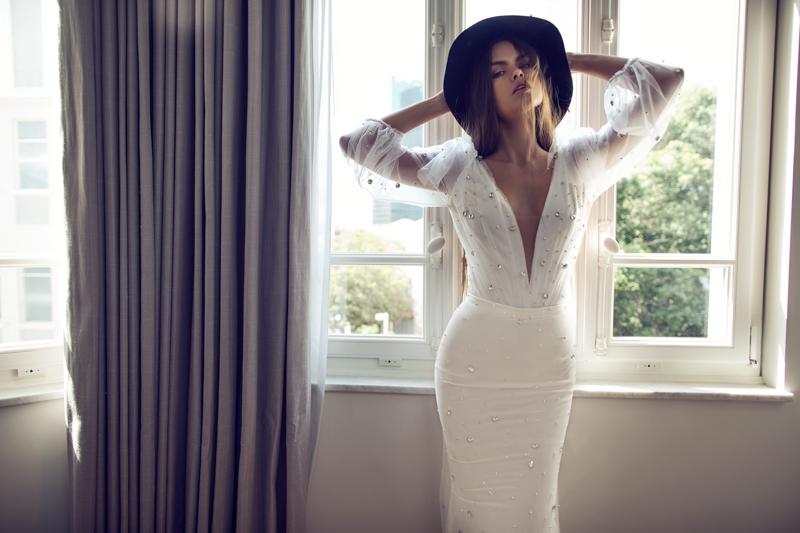 Incredibly sexy wedding dresses zahavit tshuba new mix for Wedding dress bodysuit and skirt