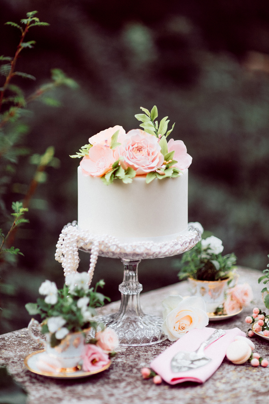 Inspired by the timeless classic, My Fair Lady, this shoot focuses on a gently sophisticated colour scheme of pale pinks, apricots and lilac.
