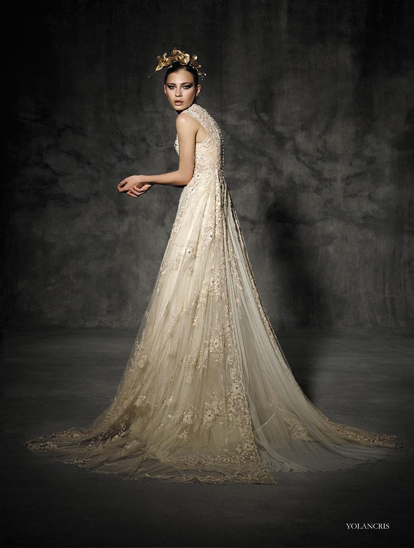 Prêt-à-Couture! YolanCris Orchid Couture Bridal…