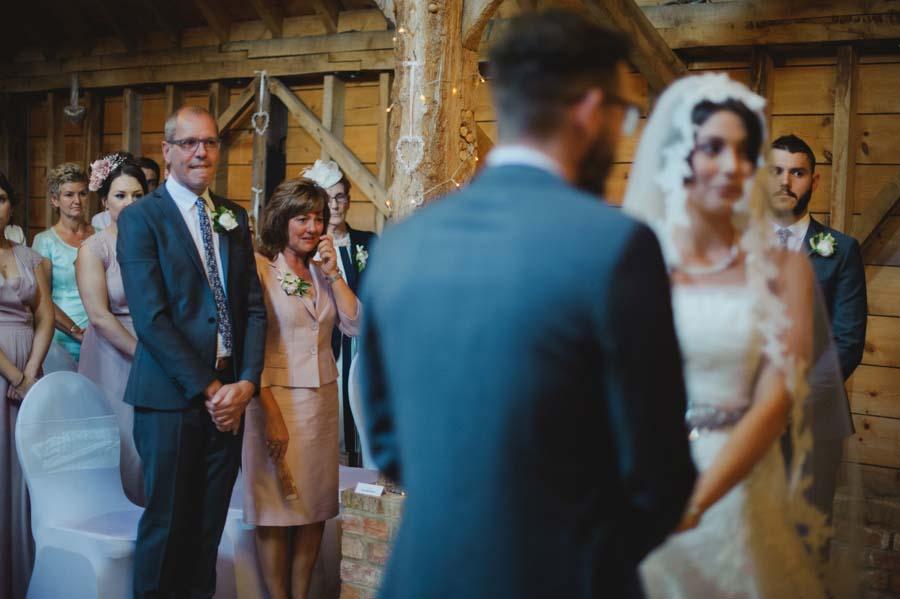 Totally Romantic & Stunning Mantilla Veil Bride & Pretty Barn ...