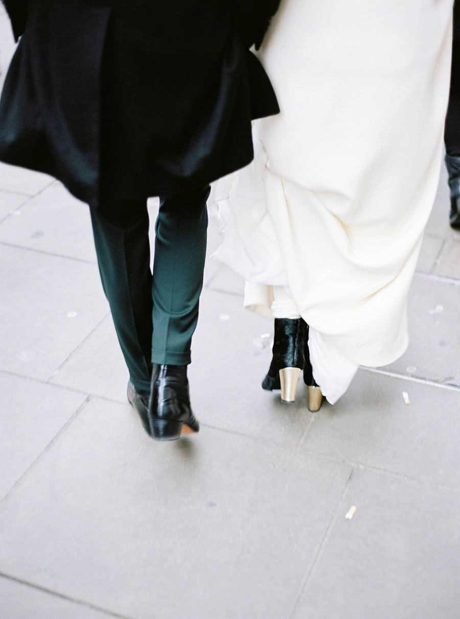 London Calling: 70s Wedding Dress Inspiration by Stéphanie Wolff Paris