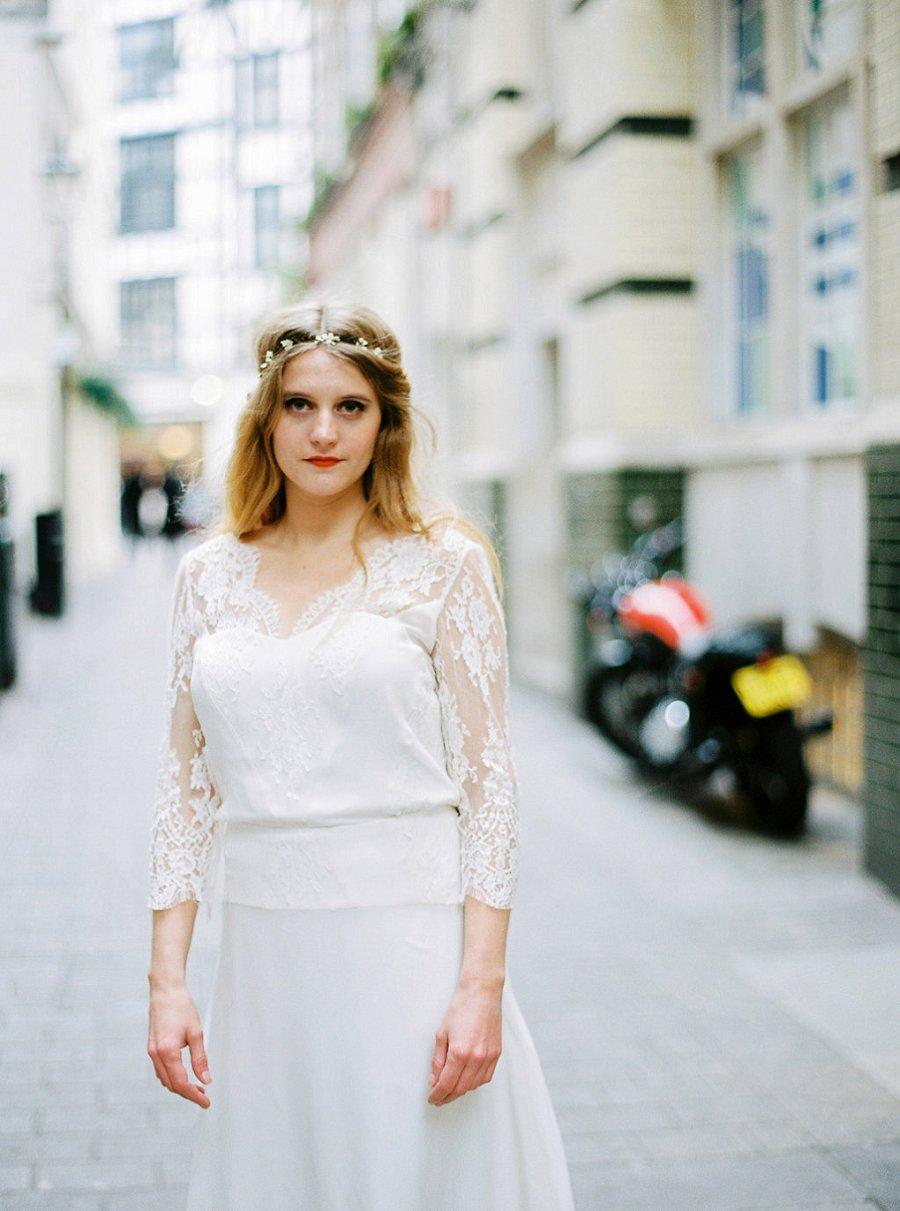 London Calling: 70s Wedding Dress Inspiration by Stéphanie Wolff Paris