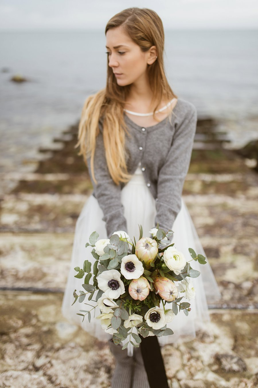 A Whimsical, Wild, White, Winter Bridal Editorial!