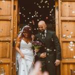 A Fun Rock Music Wedding with a Travel Theme: Viviana & Claudio