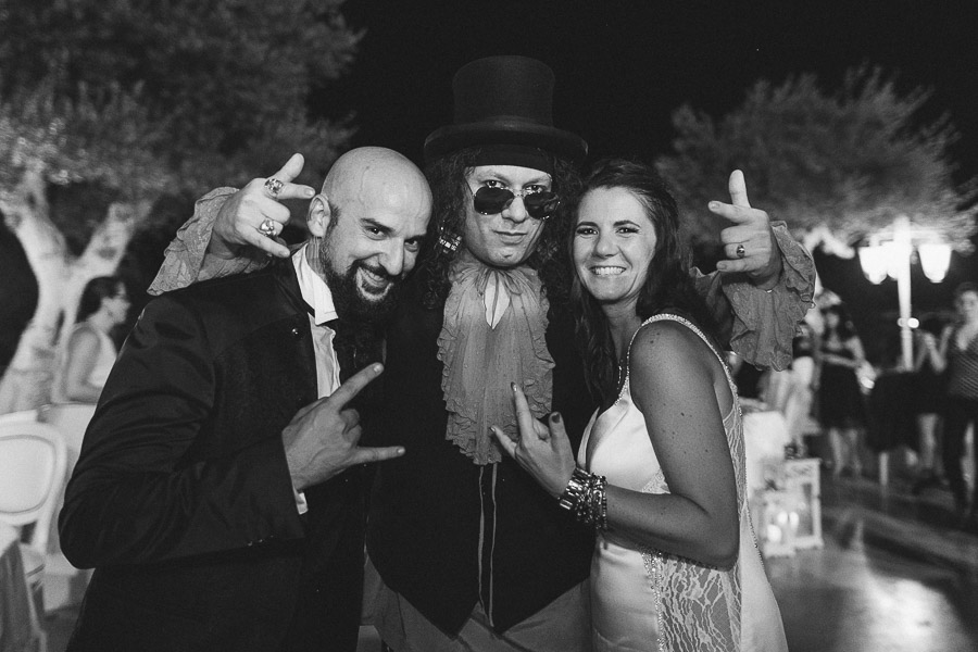 rock n roll wedding