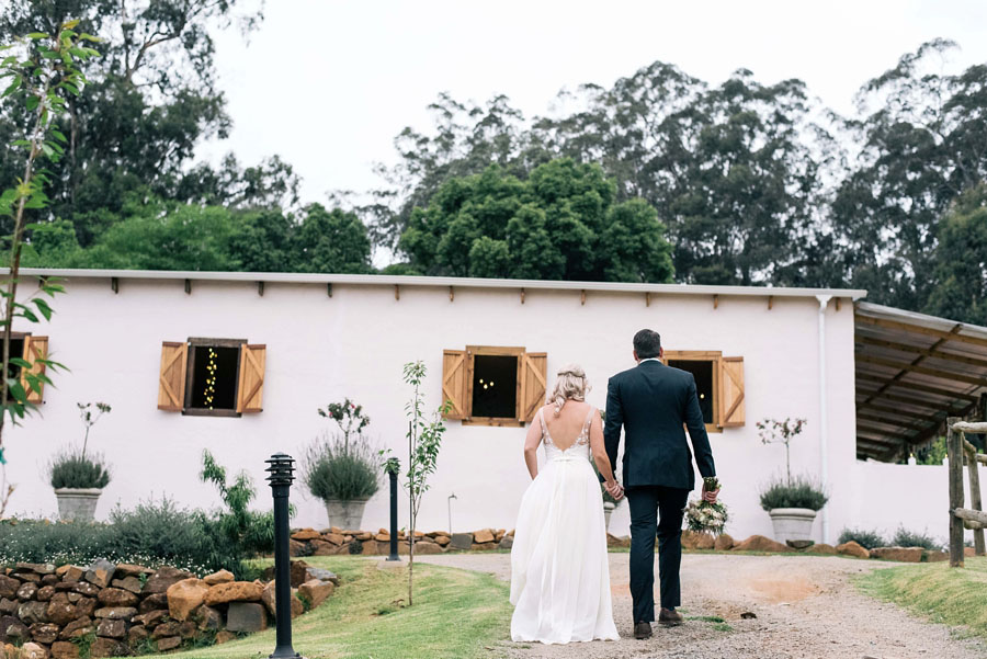 A Pretty Blush Pink Wedding with Proteas, Bunting & Lace Mike & Zoe (101)