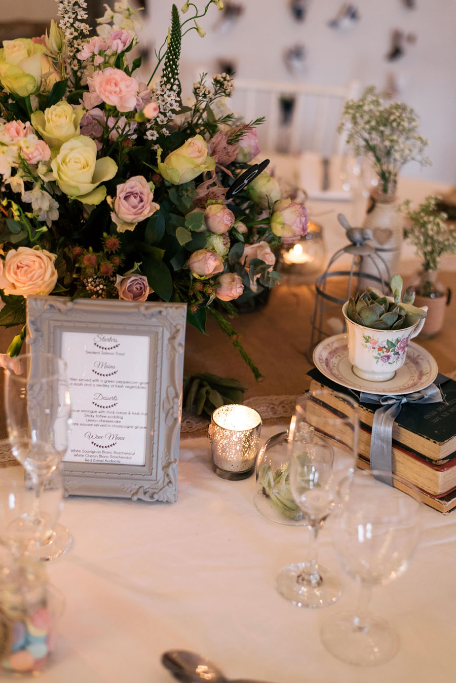 A Pretty Blush Pink Wedding with Proteas, Bunting & Lace Mike & Zoe (103)