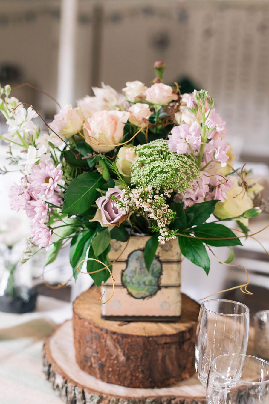 A Pretty Blush Pink Wedding with Proteas, Bunting & Lace Mike & Zoe (11)