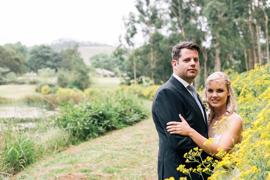 A Pretty Blush Pink Wedding with Proteas, Bunting & Lace Mike & Zoe (110)