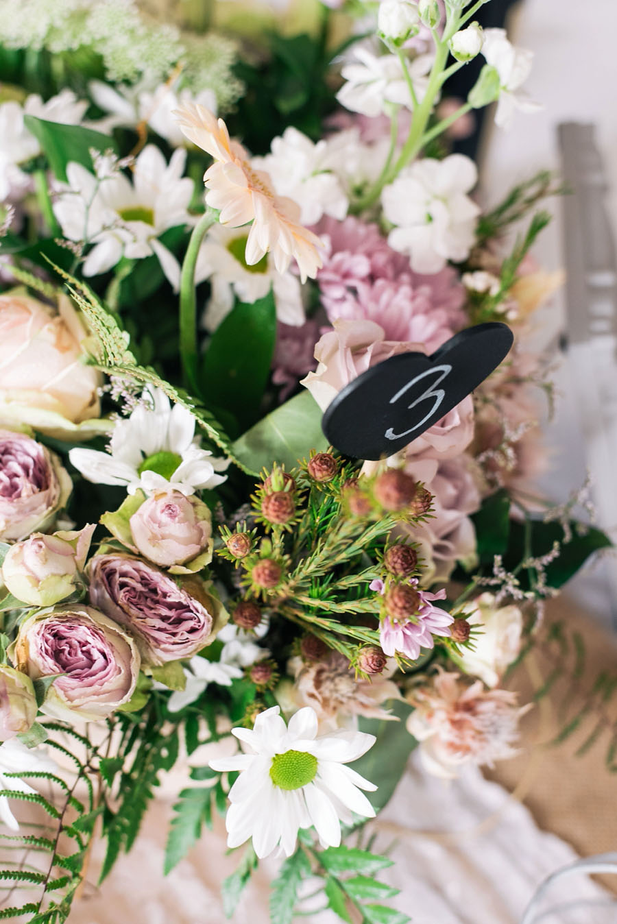 A Pretty Blush Pink Wedding with Proteas, Bunting & Lace Mike & Zoe (12)