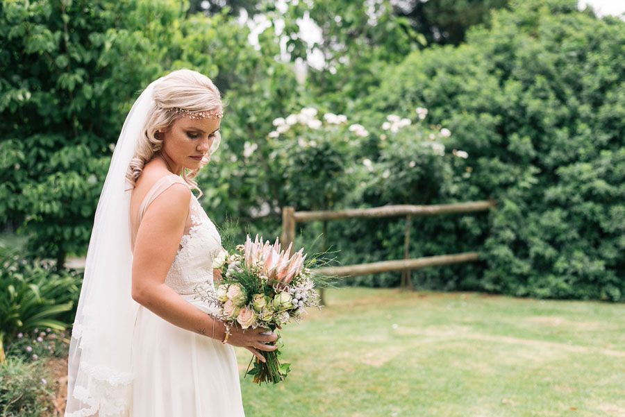 A Pretty Blush Pink Wedding with Proteas, Bunting & Lace Mike & Zoe (61)