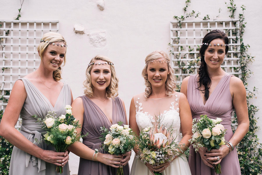 A Pretty Blush Pink Wedding with Proteas, Bunting & Lace Mike & Zoe (62)