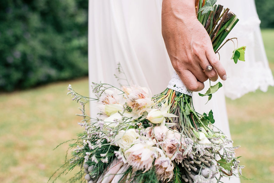 A Pretty Blush Pink Wedding with Proteas, Bunting & Lace Mike & Zoe (66)