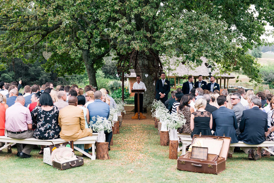 A Pretty Blush Pink Wedding with Proteas, Bunting & Lace Mike & Zoe (70)