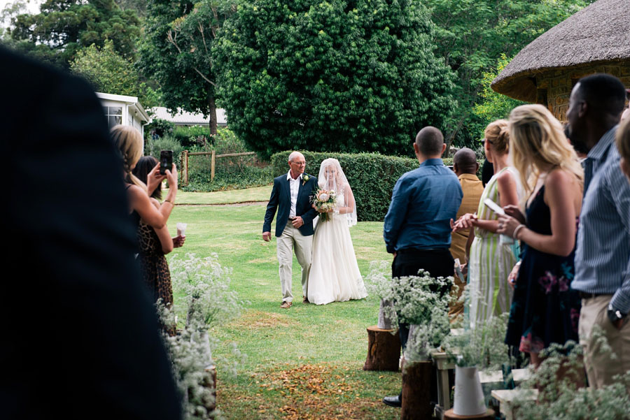 A Pretty Blush Pink Wedding with Proteas, Bunting & Lace Mike & Zoe (72)