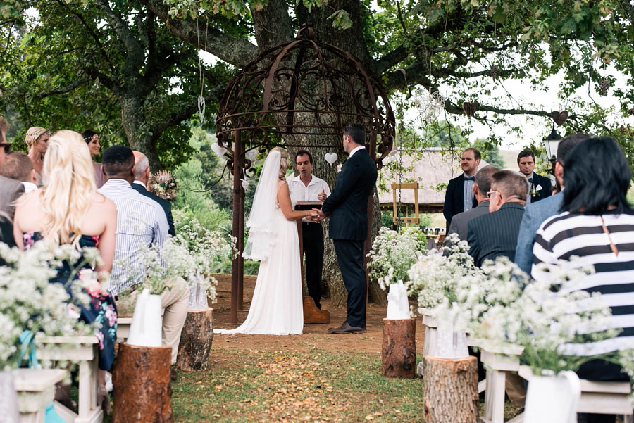 A Pretty Blush Pink Wedding with Proteas, Bunting & Lace Mike & Zoe (76)