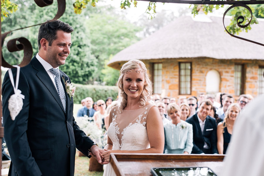 A Pretty Blush Pink Wedding with Proteas, Bunting & Lace Mike & Zoe (79)