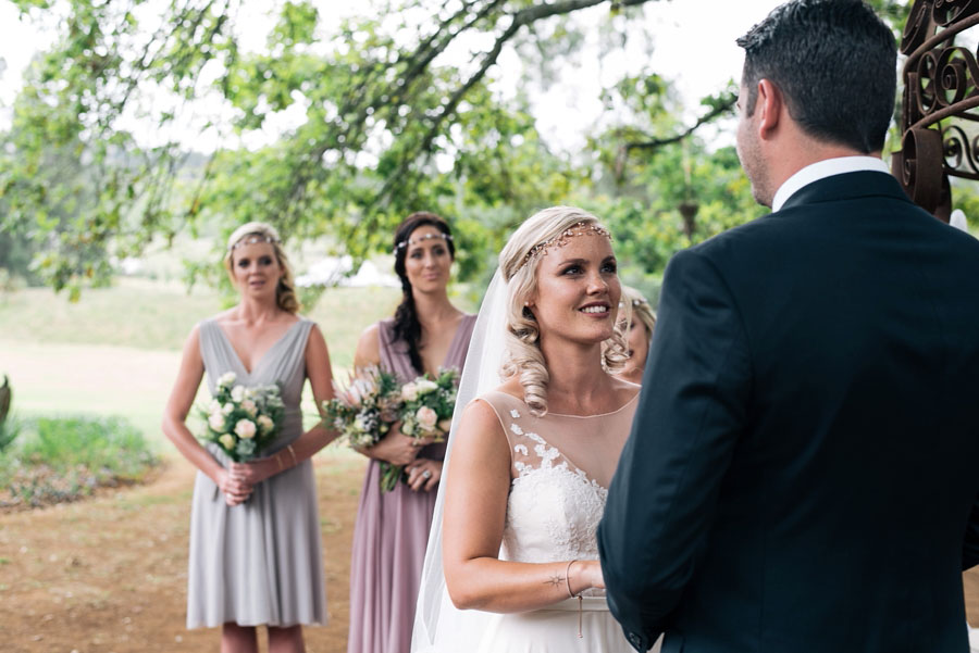 A Pretty Blush Pink Wedding with Proteas, Bunting & Lace Mike & Zoe (80)