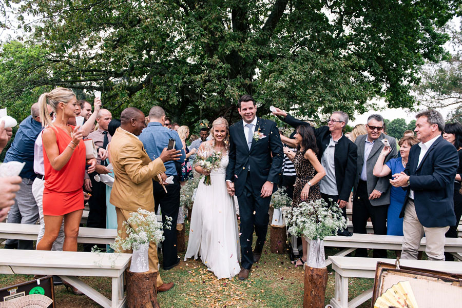 A Pretty Blush Pink Wedding with Proteas, Bunting & Lace Mike & Zoe (81)
