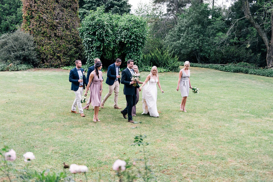 A Pretty Blush Pink Wedding with Proteas, Bunting & Lace Mike & Zoe (83)